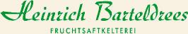 Heinrich Barteldrees Fruchtsaftkelterei - Logo